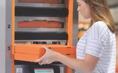 Apex Transforms Mobile Order Pick-Up With The First, Heated, Self-Serve, Automated Pick-Up Station