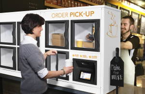 Apex Streamlines Off-Premise Dining With Self-Serve Order Pickup Lockers