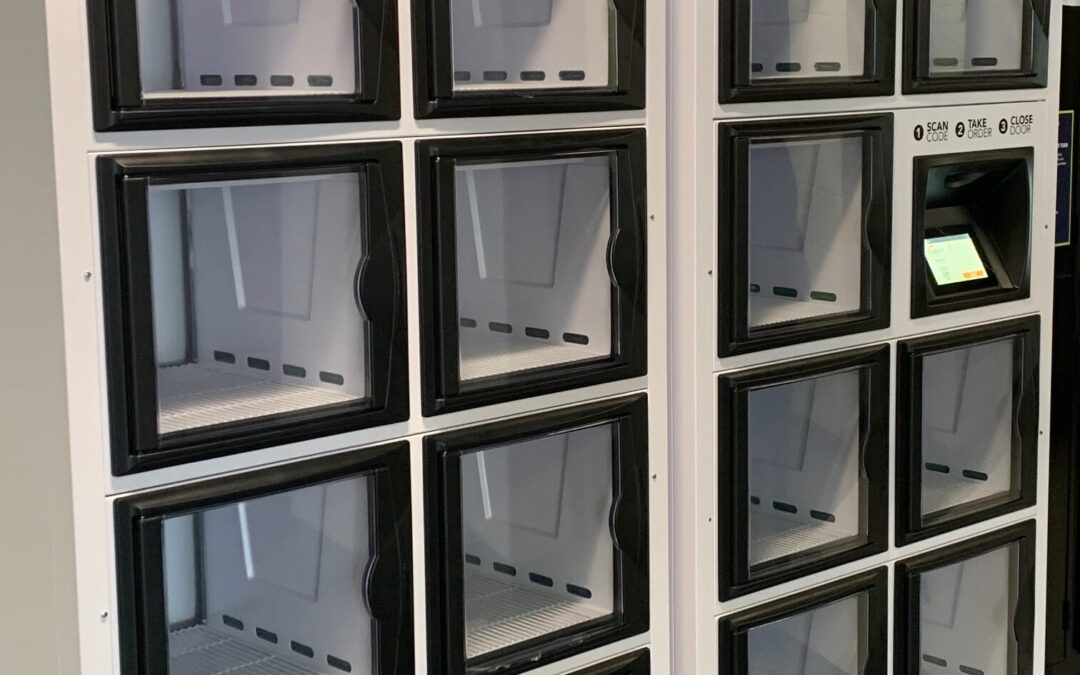 Humber College and Chartwells Canada Launch Pilot for Food Delivery Lockers