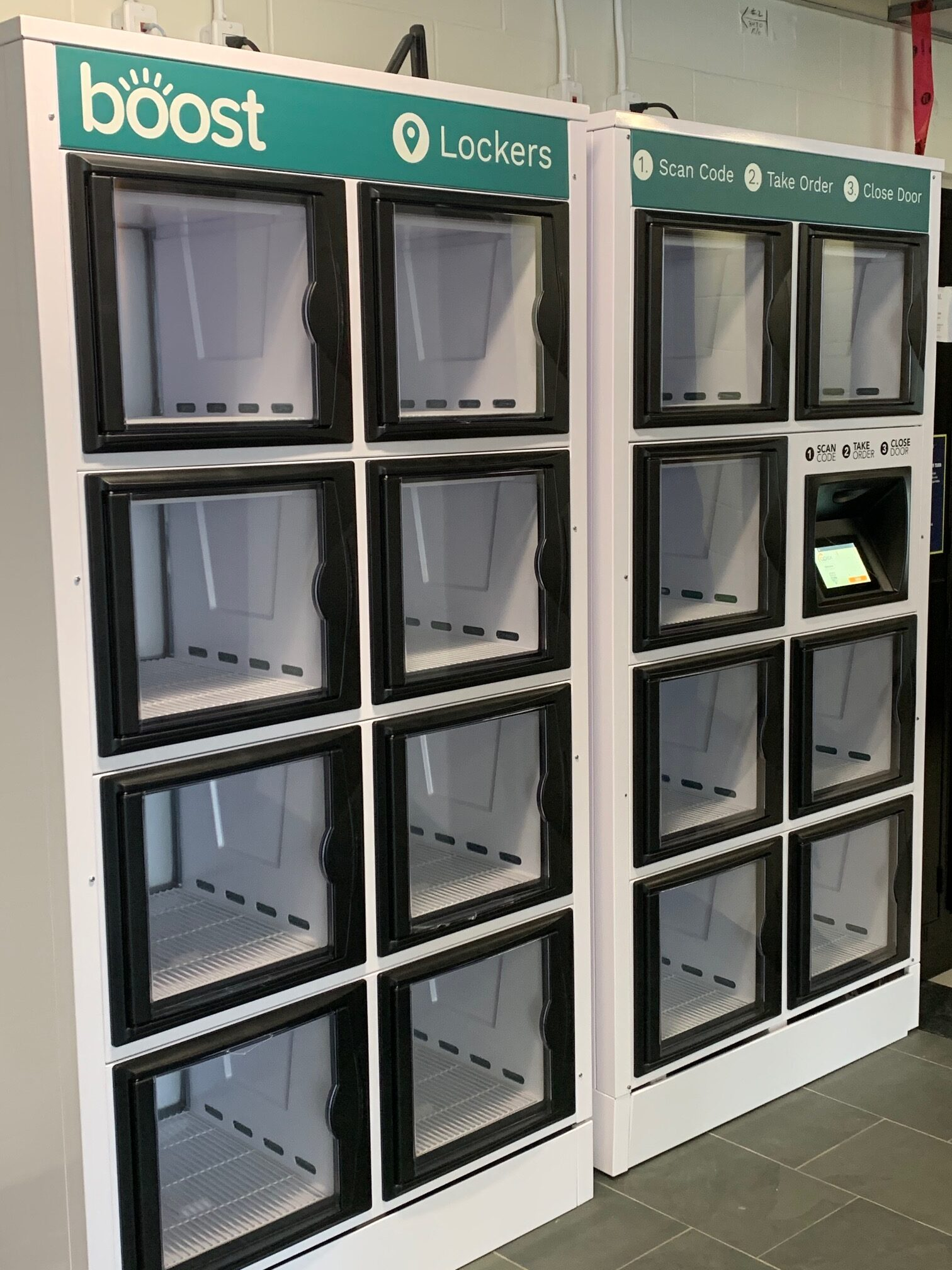 New food lockers from Compass Group at Humber College